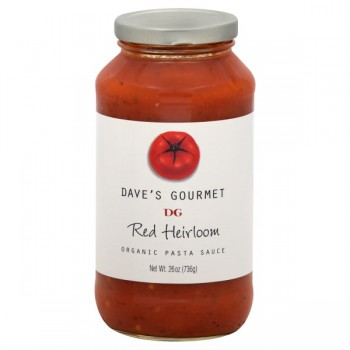 Dave's Gourmet Pasta Sauce Red Heirloom Organic
