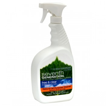 Seventh Generation All-Purpose Cleaner Free & Clear Natural Pump