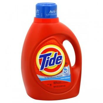 Tide Liquid Laundry Detergent HE Clean Breeze