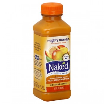 Naked Mighty Mango 100% Juice Smoothie No Sugar Added All Natural
