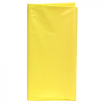 UltraWare Tablecover Plastic Yellow 54 X 108 Inch