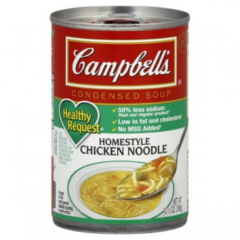 Campbell's Condensed Healthy Request Soup Homestyle Chicken Noodle