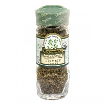 McCormick Gourmet Collection Thyme Leaves Organic