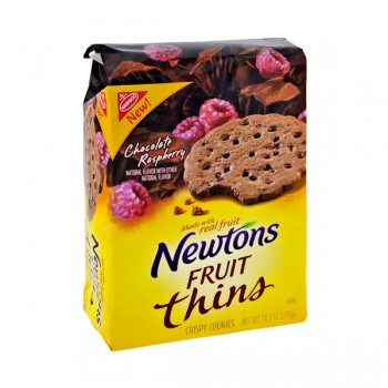 Nabisco Newtons Fruit Thins Raspberry Chocolate