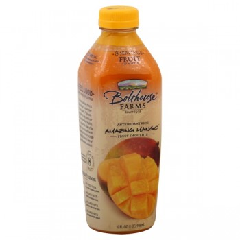 Bolthouse Farms Amazing Mango 100% Juice Fruit Smoothie All Natural