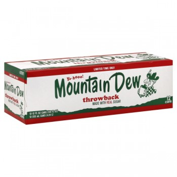 Mountain Dew Throwback - 12 pk