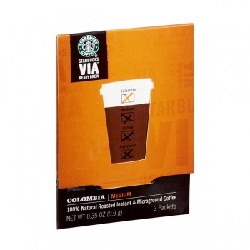 Starbucks VIA Ready Brew Colombia Medium Instant Coffee - 3 ct