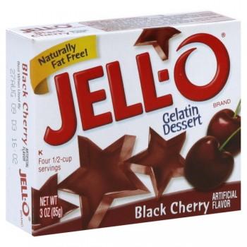 Jell-O Gelatin Dessert Black Cherry