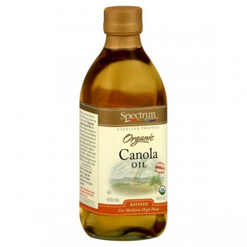 Spectrum Naturals Canola Oil Refined for Medium - High Heat Organic