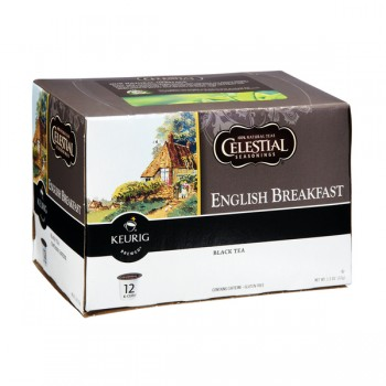 Celestial Seasonings Black Tea English Breakfast K-Cups