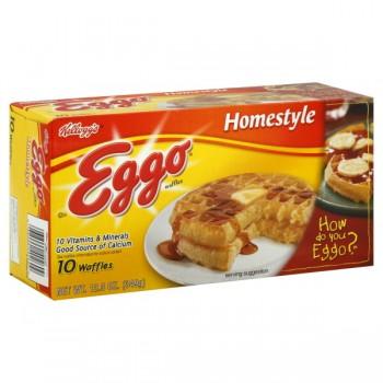 Kellogg's Eggo Waffles Homestyle - 10 ct