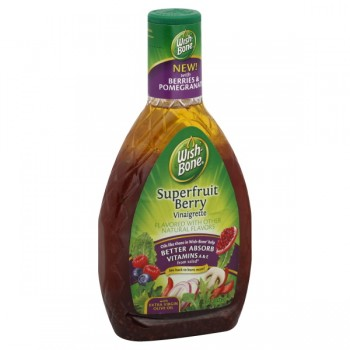 Wish-Bone Salad Dressing Vinaigrette Superfruit Berry
