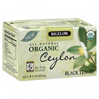 Bigelow Ceylon Black Tea Bags Organic
