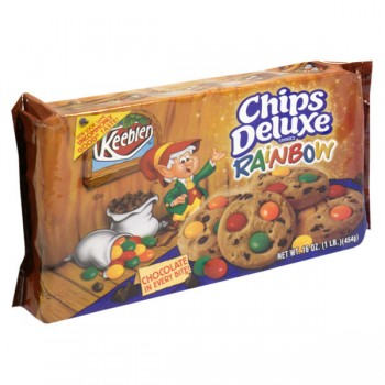 Keebler Chips Deluxe Cookies Rainbow with Chocolate Chips