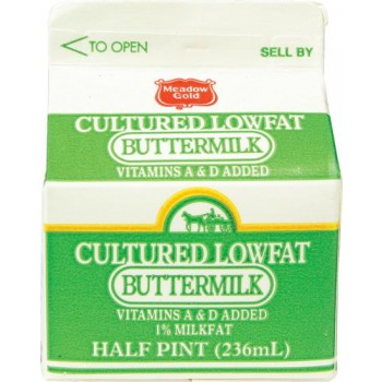 Meadow Gold Buttermilk Low Fat 1%