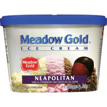 Meadow Gold Ice Cream - Neopolitan