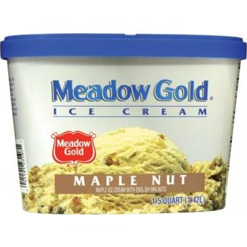 Meadow Gold Ice Cream - Maple Nut