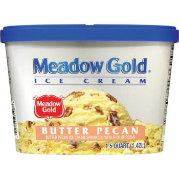 Meadow Gold Ice Cream - Butter Pecan