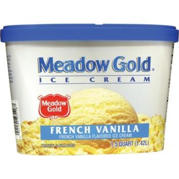 Meadow Gold Ice Cream - French Vanilla