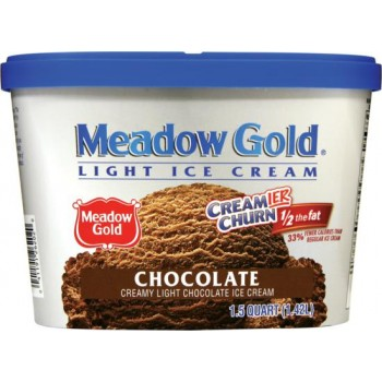 Meadow Gold Creamier Churn - 1/2 Fat - Chocolate