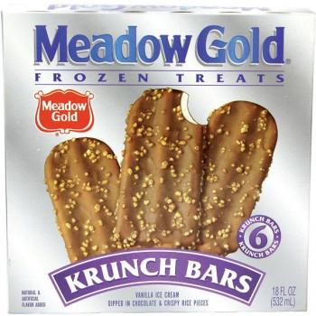 Meadow Gold Krunch Bars - 6 ct