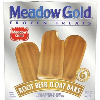 Meadow Gold Root Beer Float Bars - 6 ct