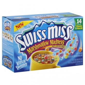 Swiss Miss Marshmallow Madness Hot Cocoa Mix - 8 ct