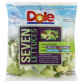 Salad Dole Seven Lettuces All Natural