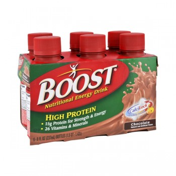 Boost High Protein Nutritional Drink Chocolate - 6 pk