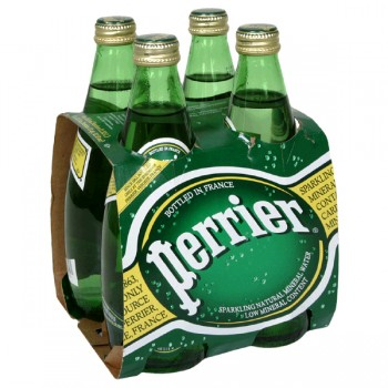 Perrier Sparkling Mineral Water - 4 pk
