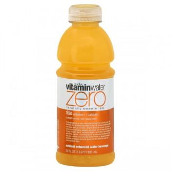 Glaceau Vitamin Water Zero Rise Orange Flavored