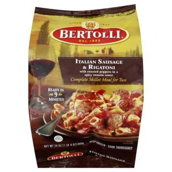 Bertolli Complete Skillet Meal for Two Italian Sausage & Rigatoni
