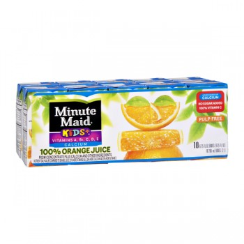 Minute Maid Orange Juice - 10 pk