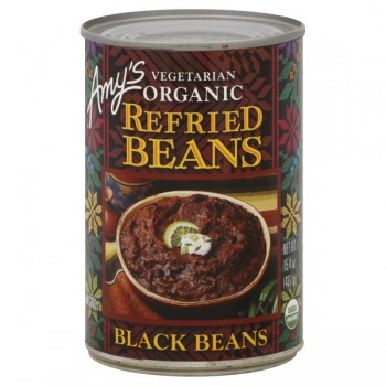 Amy's Refried Beans Black Organic