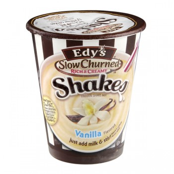 Dreyer's/Edy's Slow Churned Rich & Creamy Frozen Shake Mix Vanilla - Add Milk