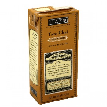 Tazo Chai Latte Spiced Black Tea Concentrate