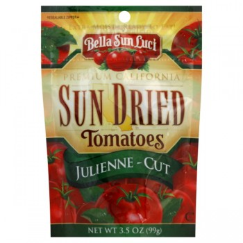 Bella Sun Luci Premium California Sun Dried Tomatoes Julienne Cut