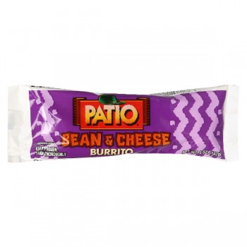 Patio Burrito Cheese & Bean