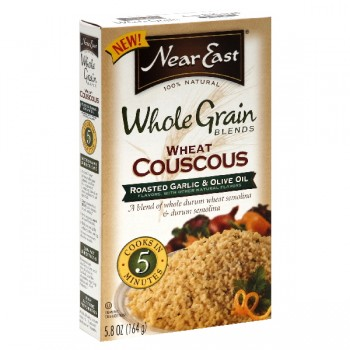 Near East Whole Grain Blends Couscous Roast Garlic & Olive Oil Natural