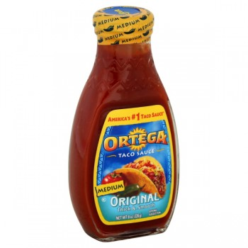 Ortega Taco Sauce Thick & Smooth Medium