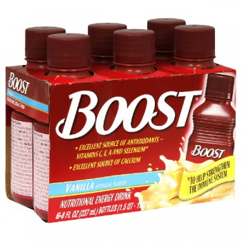 Boost Nutritional Drink Vanilla - 6 pk