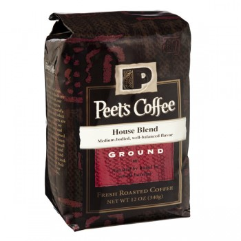 Peet's House Blend Coffee (Ground)