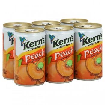 Kern's Peach Nectar - 6 pk