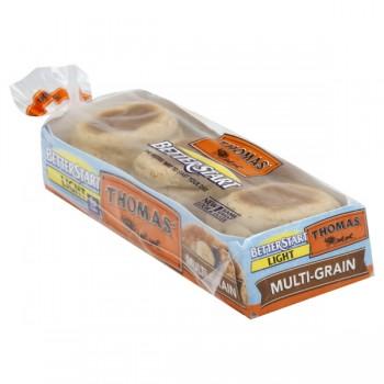 Thomas' Better Start English Muffins Multi-Grain Light - 6 ct