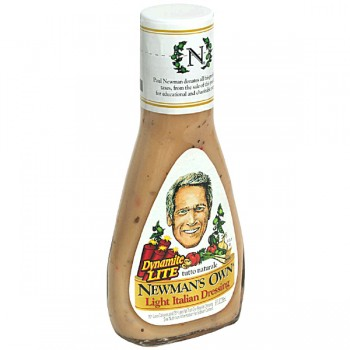 Newman's Own Salad Dressing Italian Lite