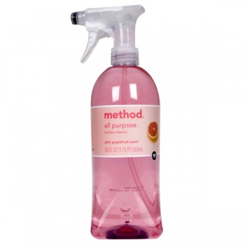 Method Surface Cleaner All-Purpose Pink Grapefruit Trigger Spray