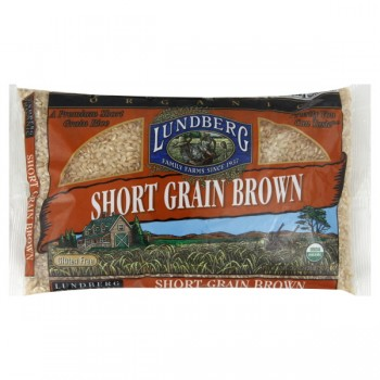 Lundberg Rice Brown Short Grain Organic