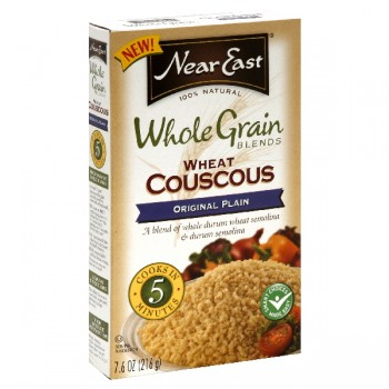 Near East Whole Grain Blends Couscous Original Plain 100% Natural