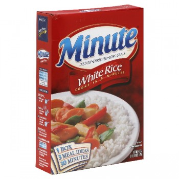 Minute Brand Instant Rice White Enriched Long Grain