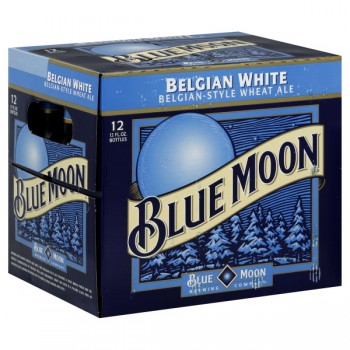 Blue Moon Belgian White Ale - 12 pk